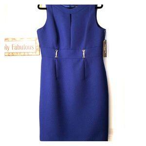 Deep Blue Tahari Dress
